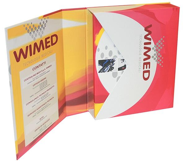 raccoglitori personalizzati Wimed